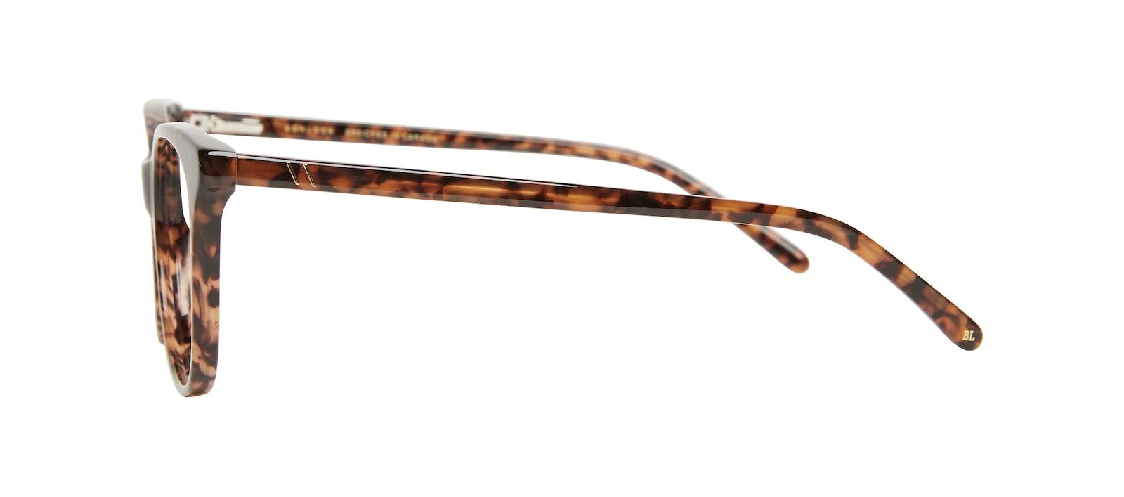 Affordable Fashion Glasses Square Eyeglasses Kids Bloom Junior Leopard Side