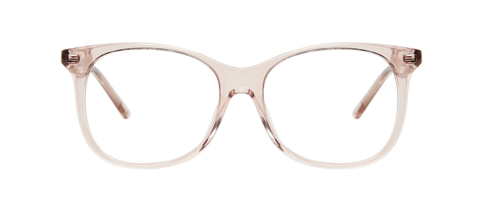 Affordable Fashion Glasses Square Eyeglasses Kids Bloom Junior Pink Front