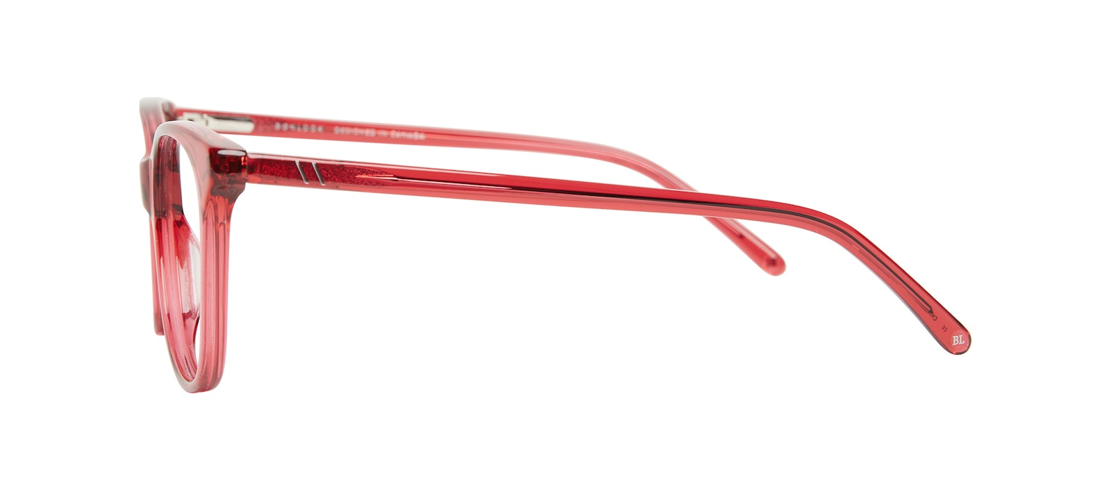 Affordable Fashion Glasses Square Eyeglasses Kids Bloom Junior Ruby Side
