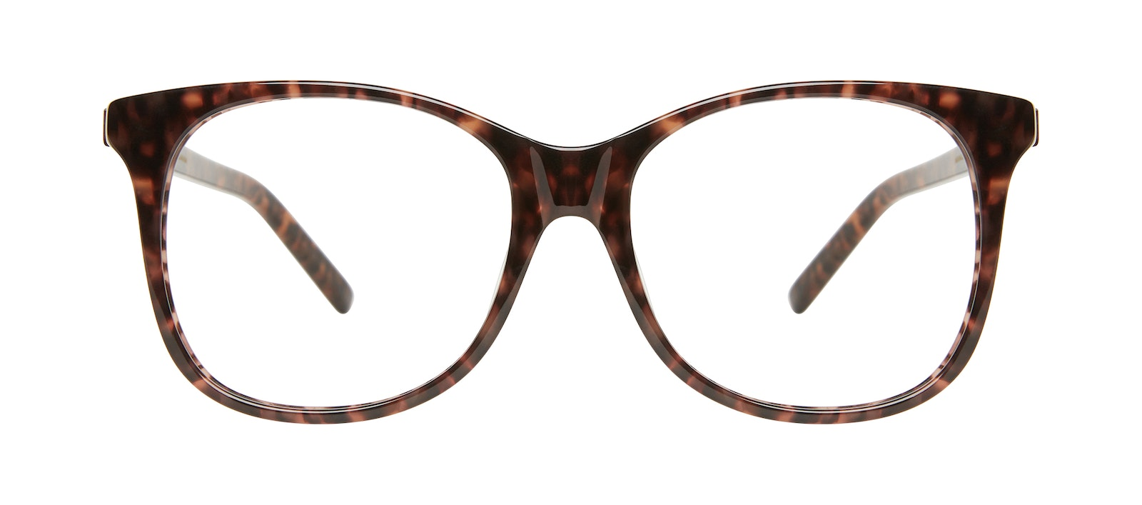 Affordable Fashion Glasses Square Eyeglasses Women Bloom Leopard Front