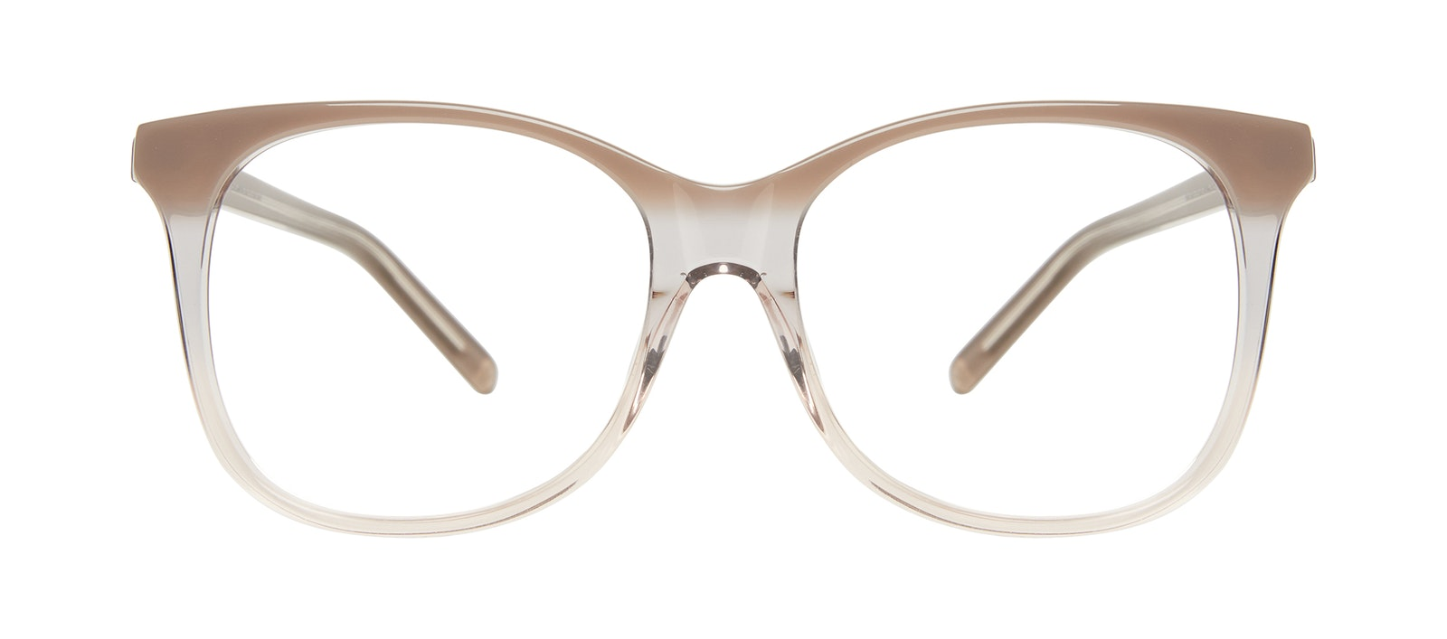 Affordable Fashion Glasses Square Eyeglasses Women Bloom Smokey Ombré Front