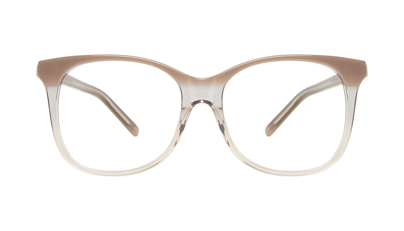 Affordable Fashion Glasses Square Eyeglasses Women Bloom Smokey Ombré