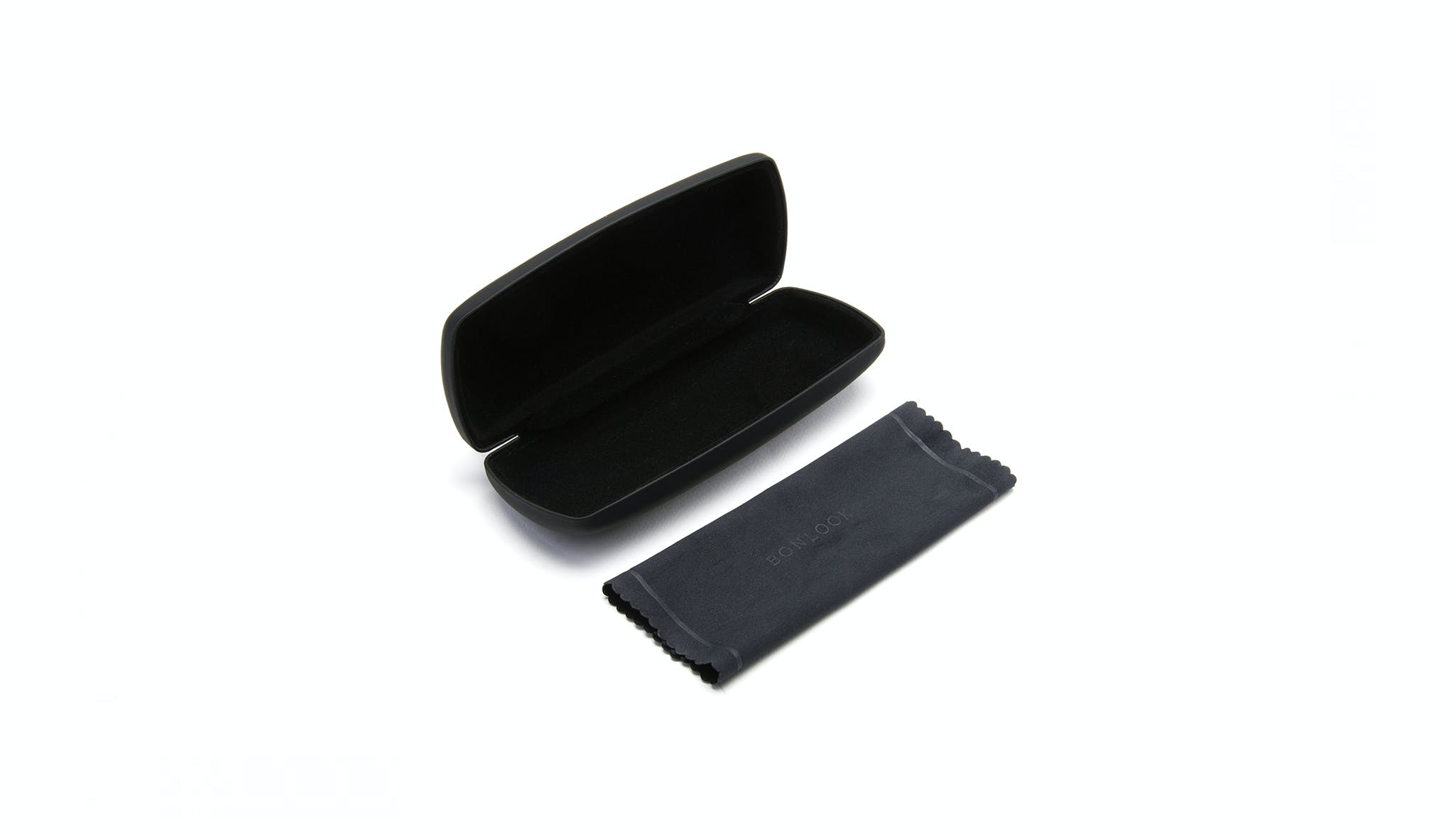 Affordable Fashion Glasses Accessory Men Women BonLook Case Black Tilt