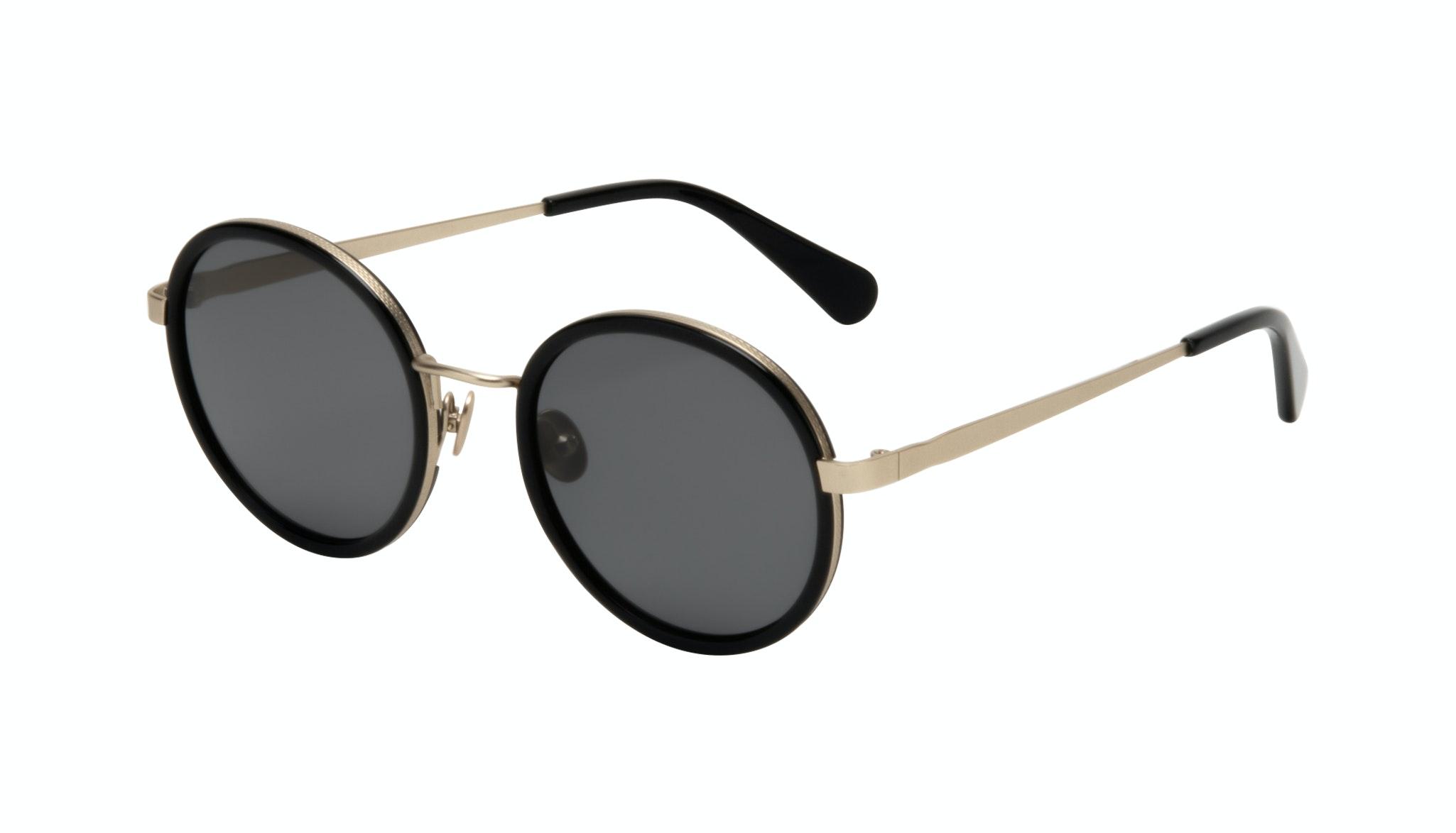 Affordable Fashion Glasses Round Sunglasses Women Boogie Onyx Tilt