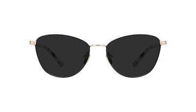 Affordable Fashion Glasses Cat Eye Sunglasses Women Bow Onyx Marble Front