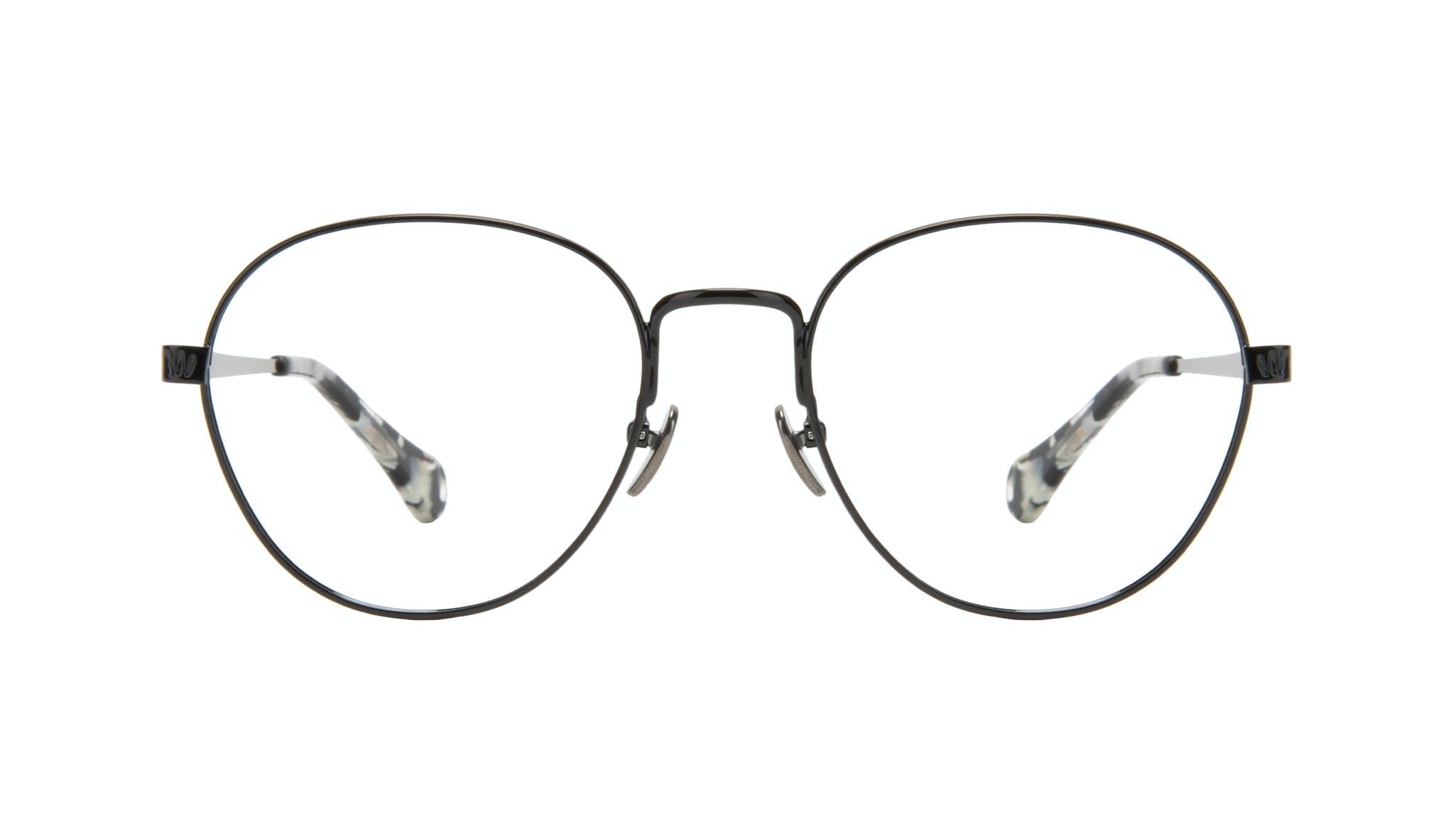 Affordable Fashion Glasses Round Eyeglasses Women Brace Onyx Marble Front