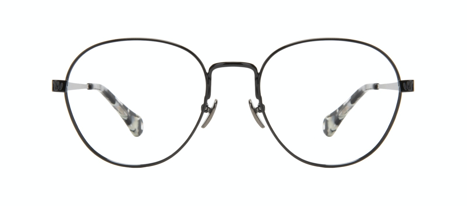 4f455fa7d8d Affordable Fashion Glasses Round Eyeglasses Women Brace Onyx Marble Front