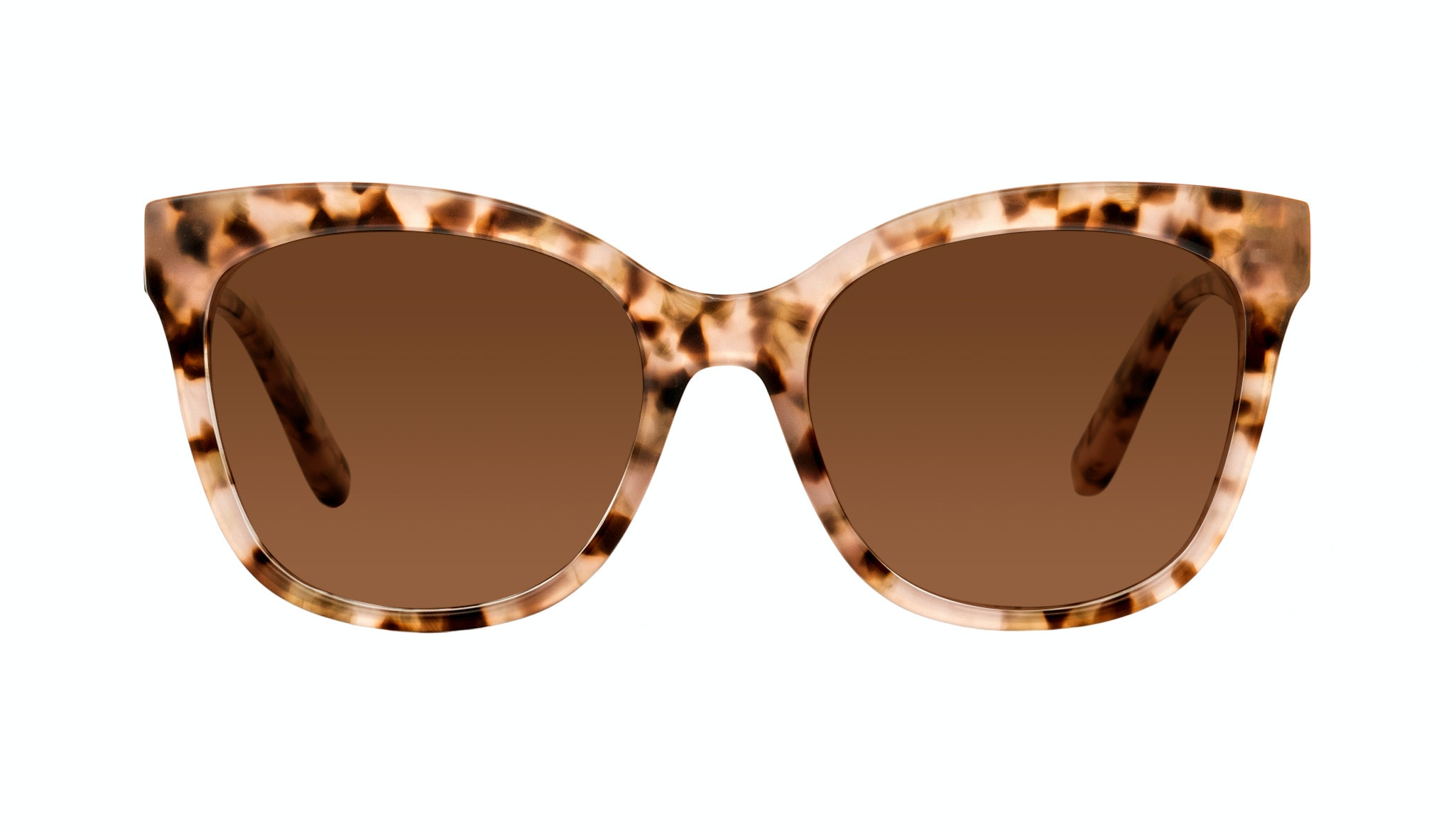 Affordable Fashion Glasses Rectangle Square Sunglasses Women Breezy Pink Leopard