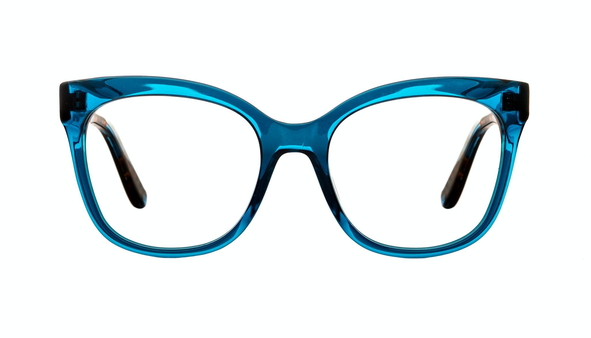 Affordable Fashion Glasses Square Eyeglasses Women Breezy Blue Wonder Front