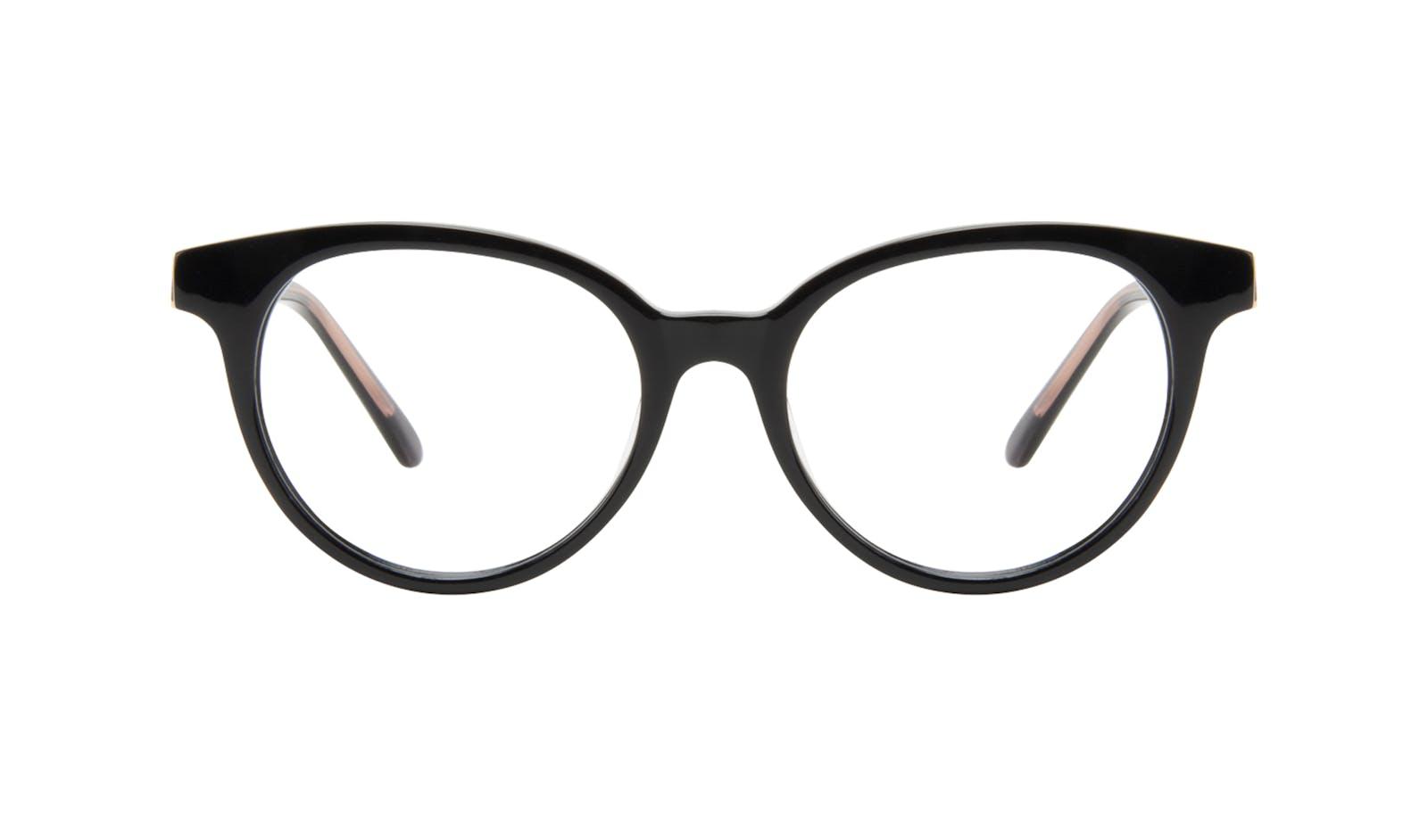 60199164a8 Affordable Fashion Glasses Round Eyeglasses Women Bright Black