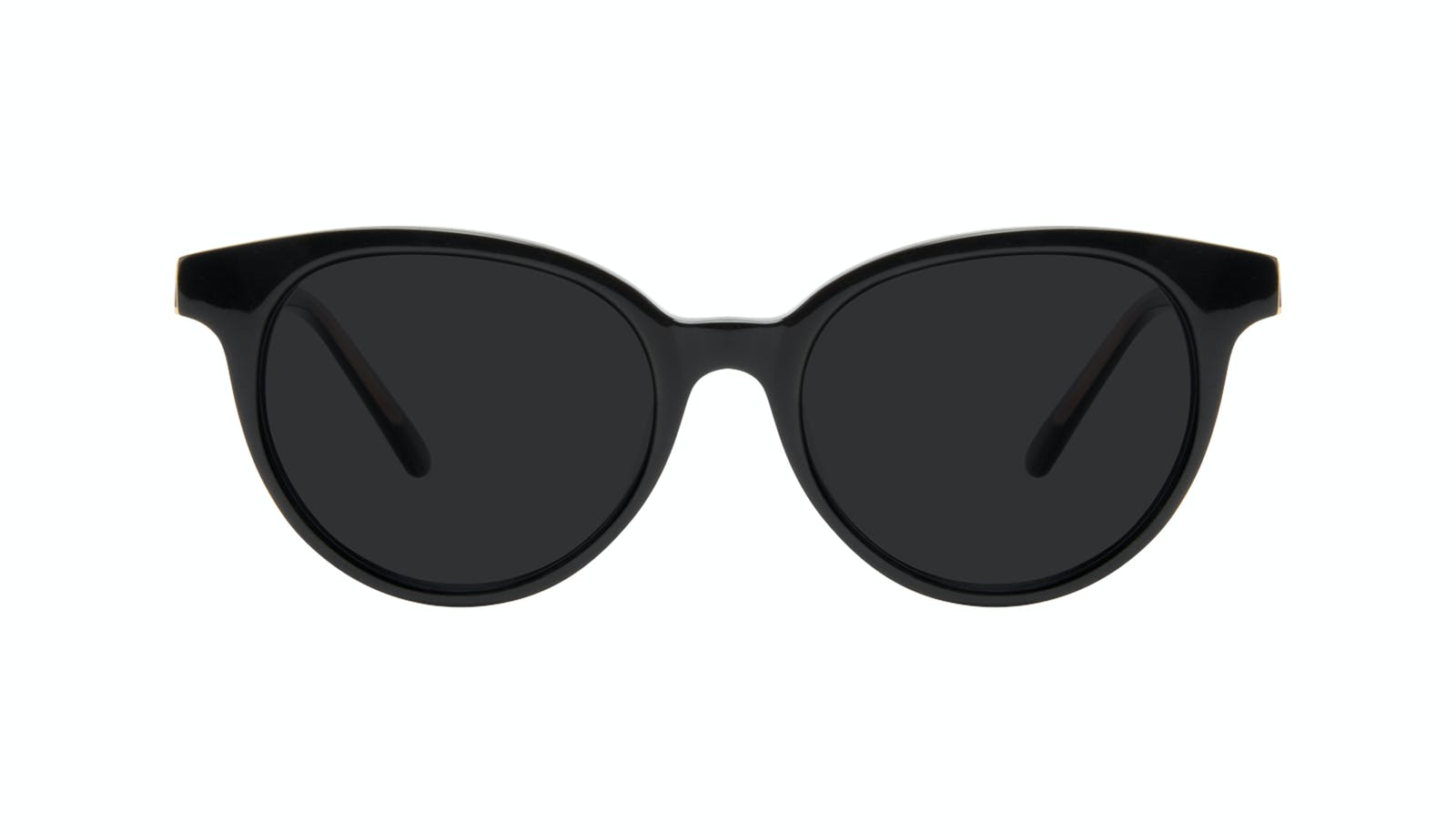 3692aec3259 Affordable Fashion Glasses Round Sunglasses Women Bright Black