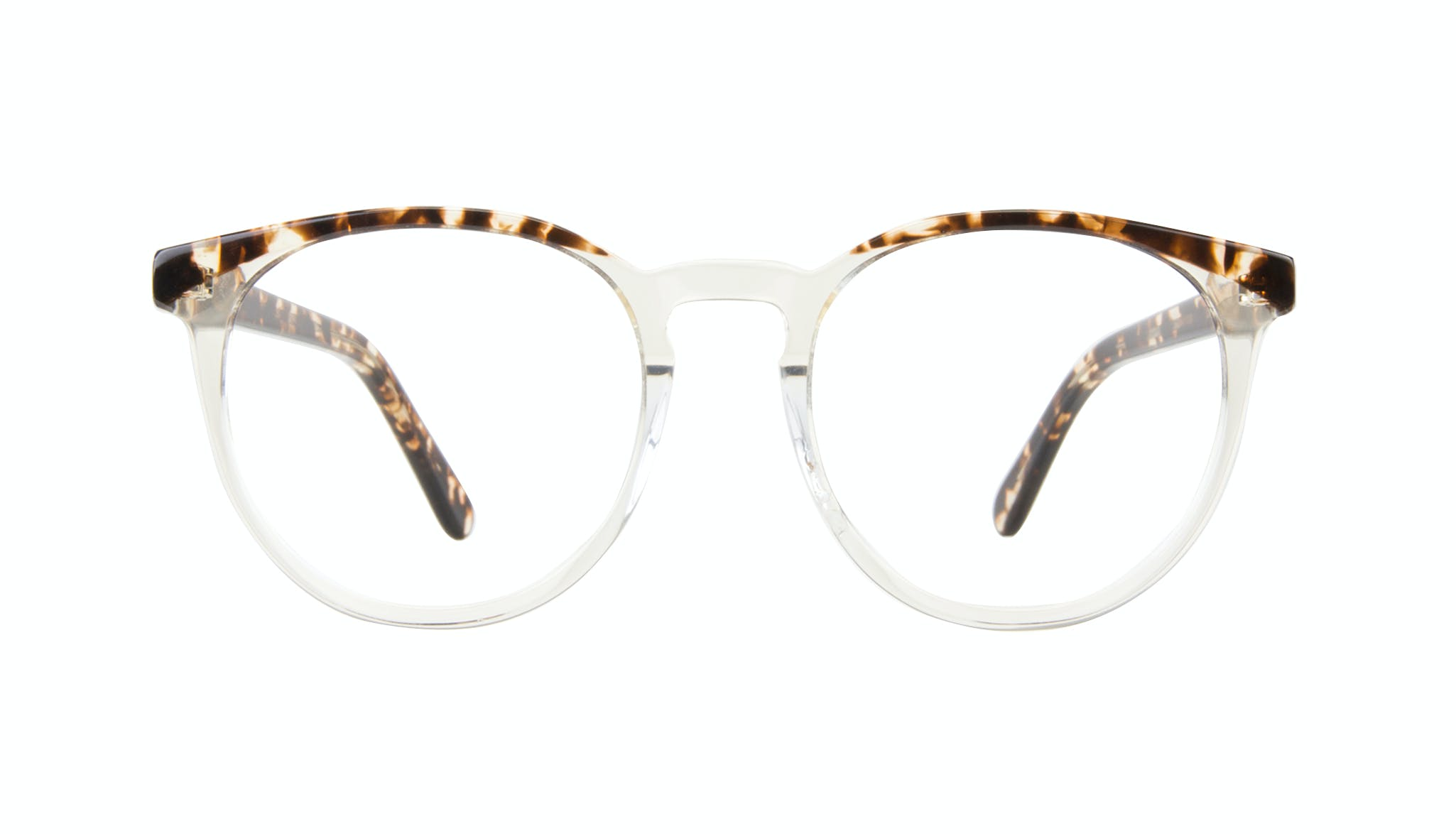Affordable Fashion Glasses Round Eyeglasses Women Brilliant Blond Tortoise Front