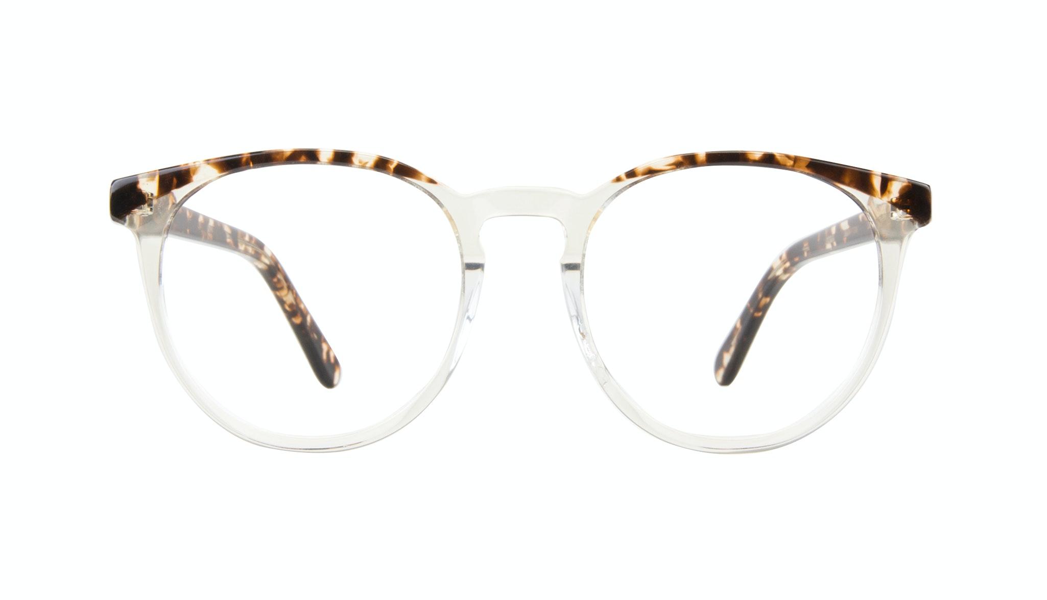 Affordable Fashion Glasses Round Eyeglasses Women Brilliant Blond Tortoise Front
