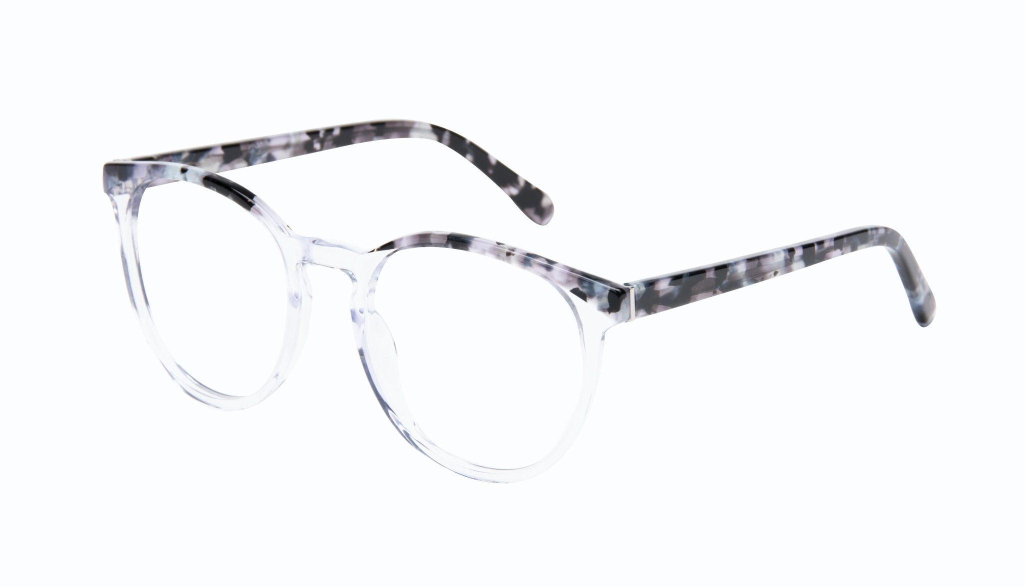 Affordable Fashion Glasses Round Eyeglasses Women Brilliant Cloud Tilt