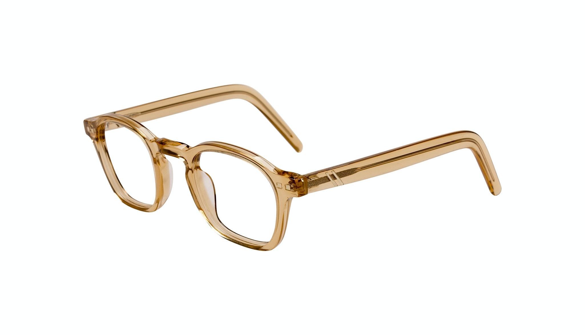 Affordable Fashion Glasses Square Eyeglasses Men Brisk Golden Tilt