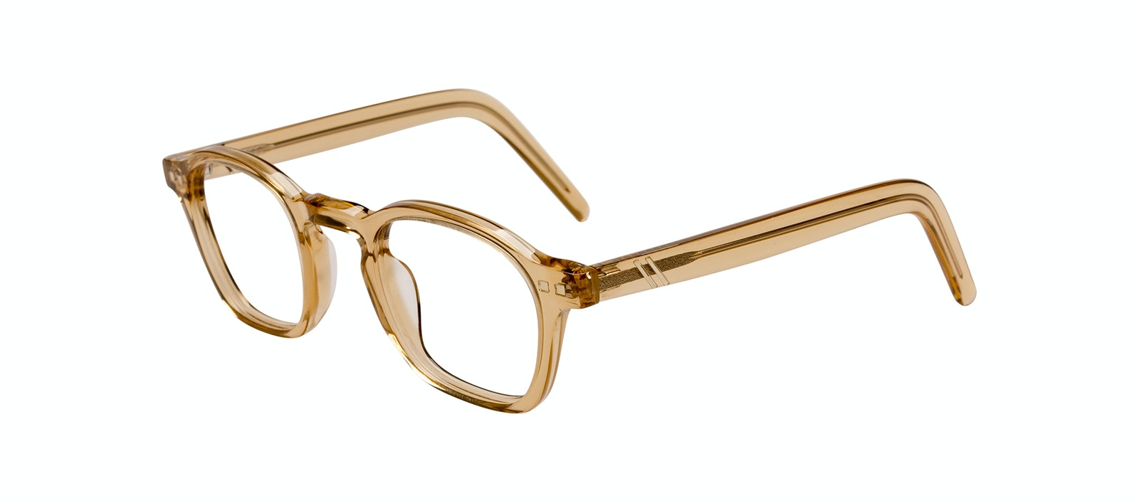 Affordable Fashion Glasses Square Eyeglasses Men Brisk Golden Tilt