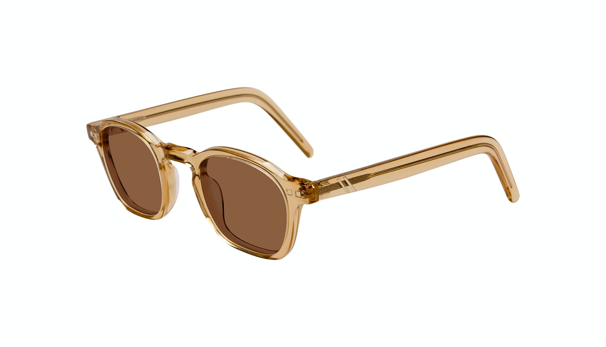 Affordable Fashion Glasses Square Sunglasses Men Brisk Golden Tilt
