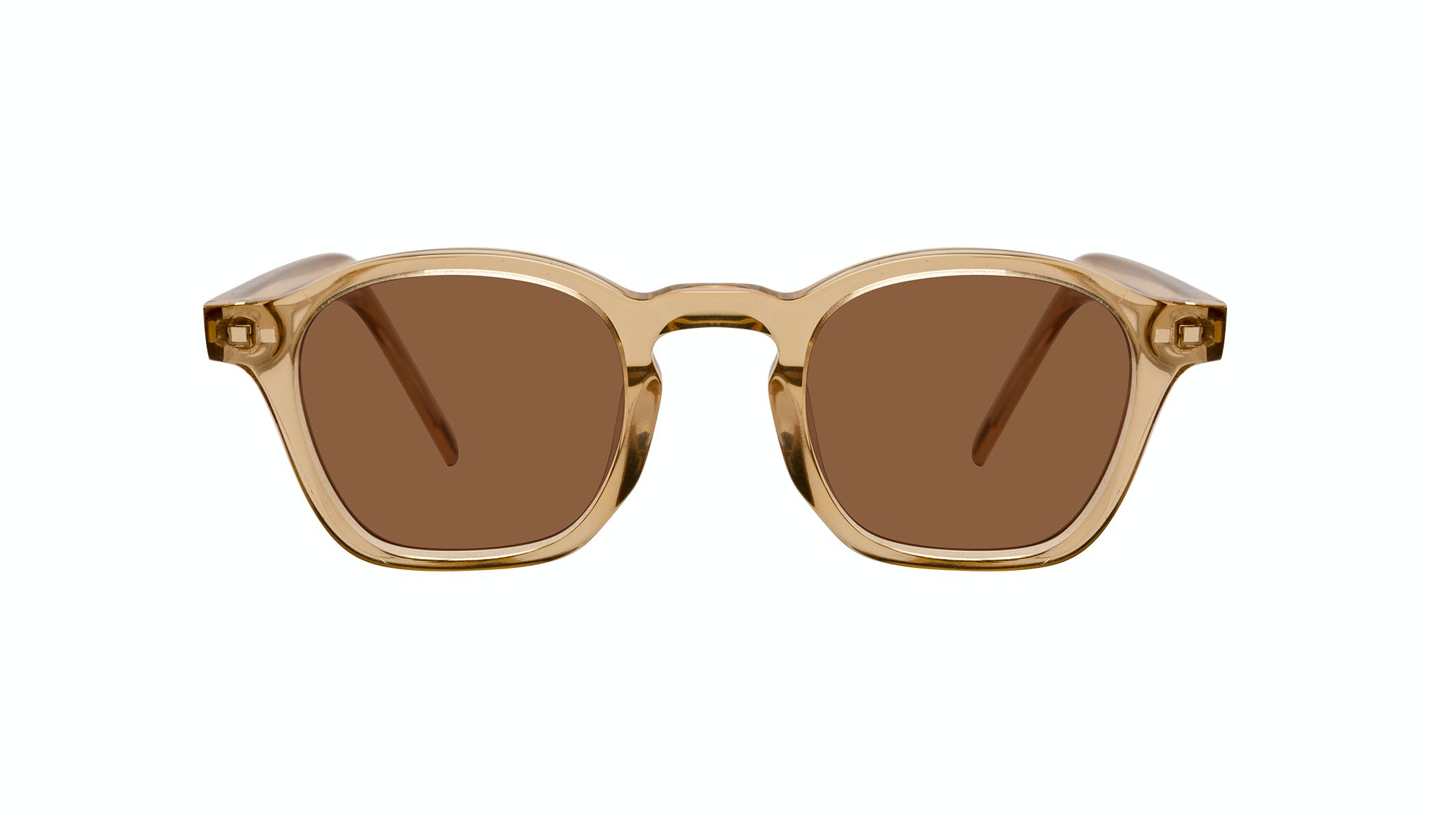 Affordable Fashion Glasses Square Sunglasses Men Brisk Golden Front