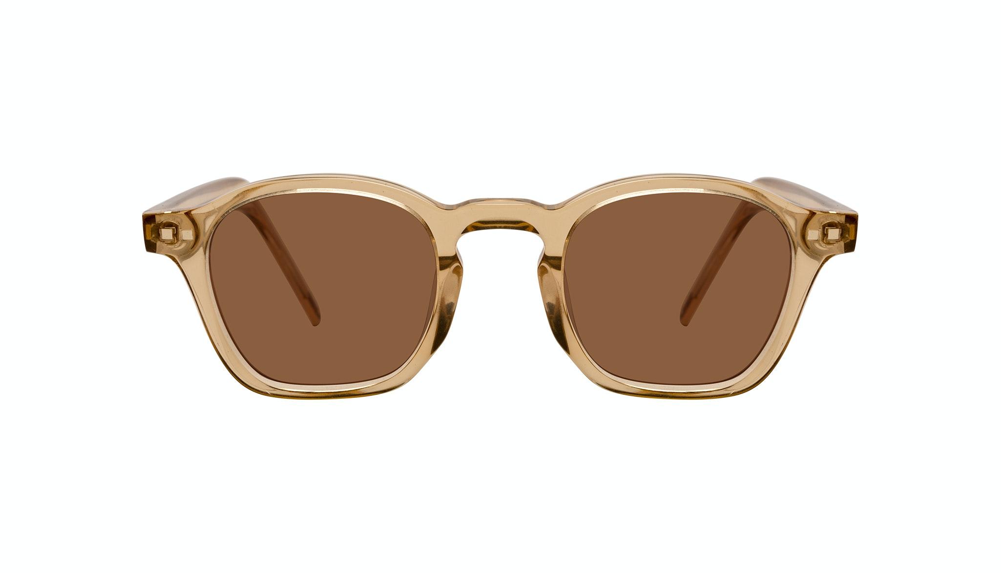 Affordable Fashion Glasses Square Sunglasses Men Brisk Golden Front