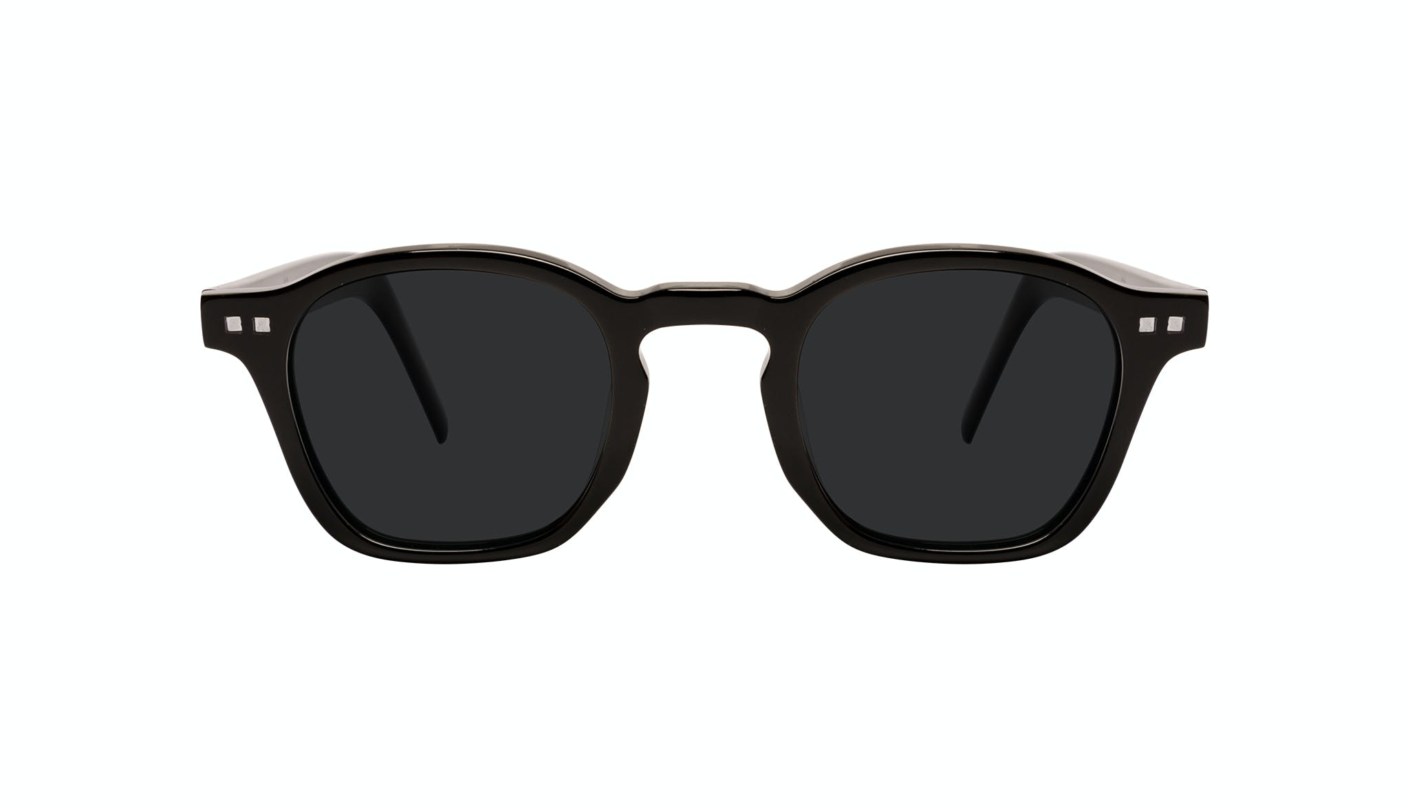 Affordable Fashion Glasses Square Sunglasses Men Brisk Onyx Front