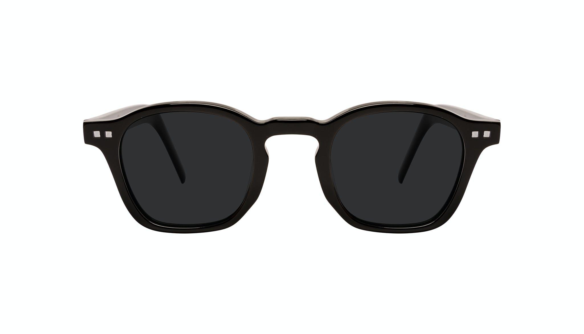 Lunettes tendance Carrée Lunettes de soleil Hommes Brisk Onyx