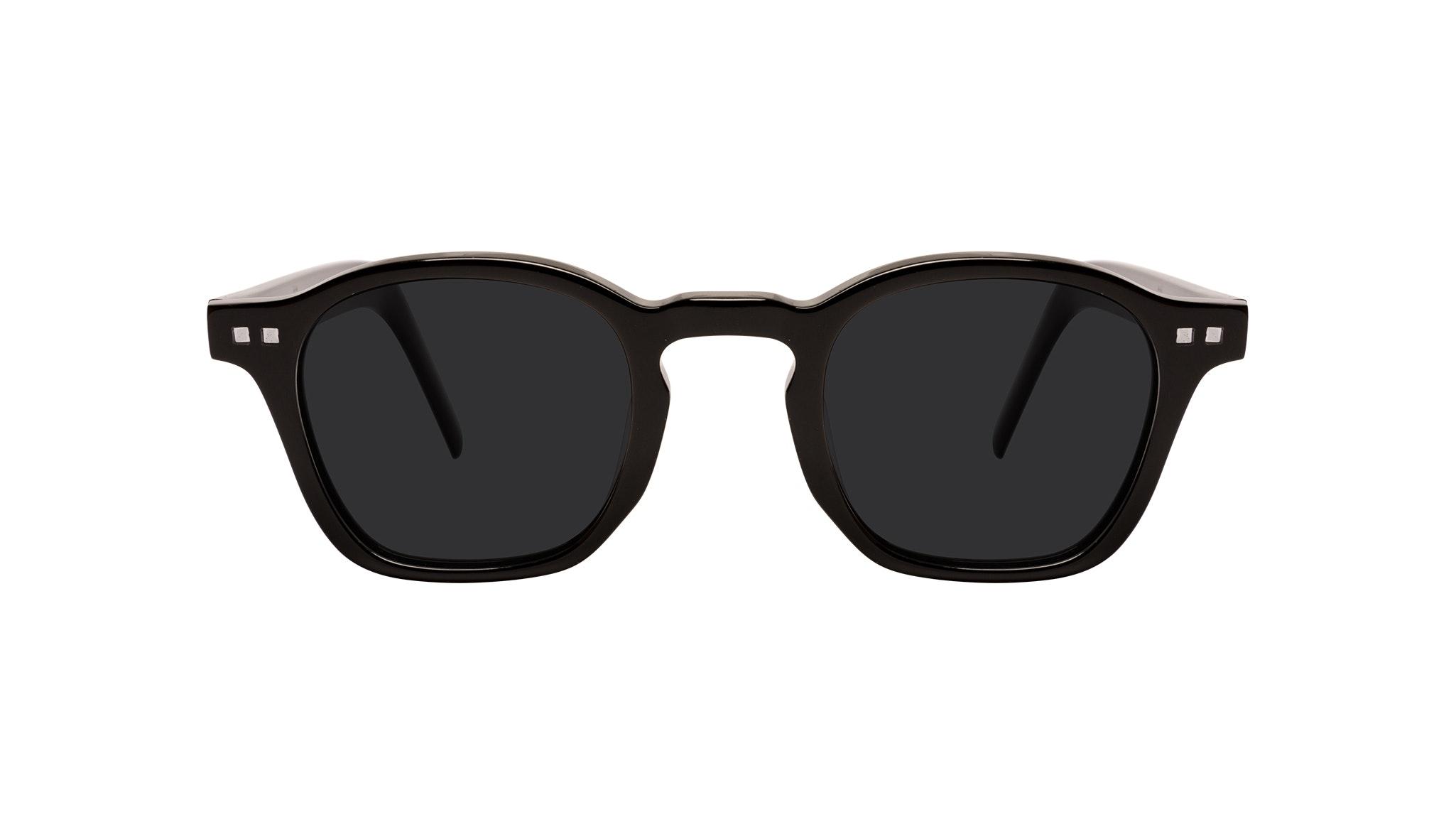 Affordable Fashion Glasses Square Sunglasses Men Brisk Onyx Front