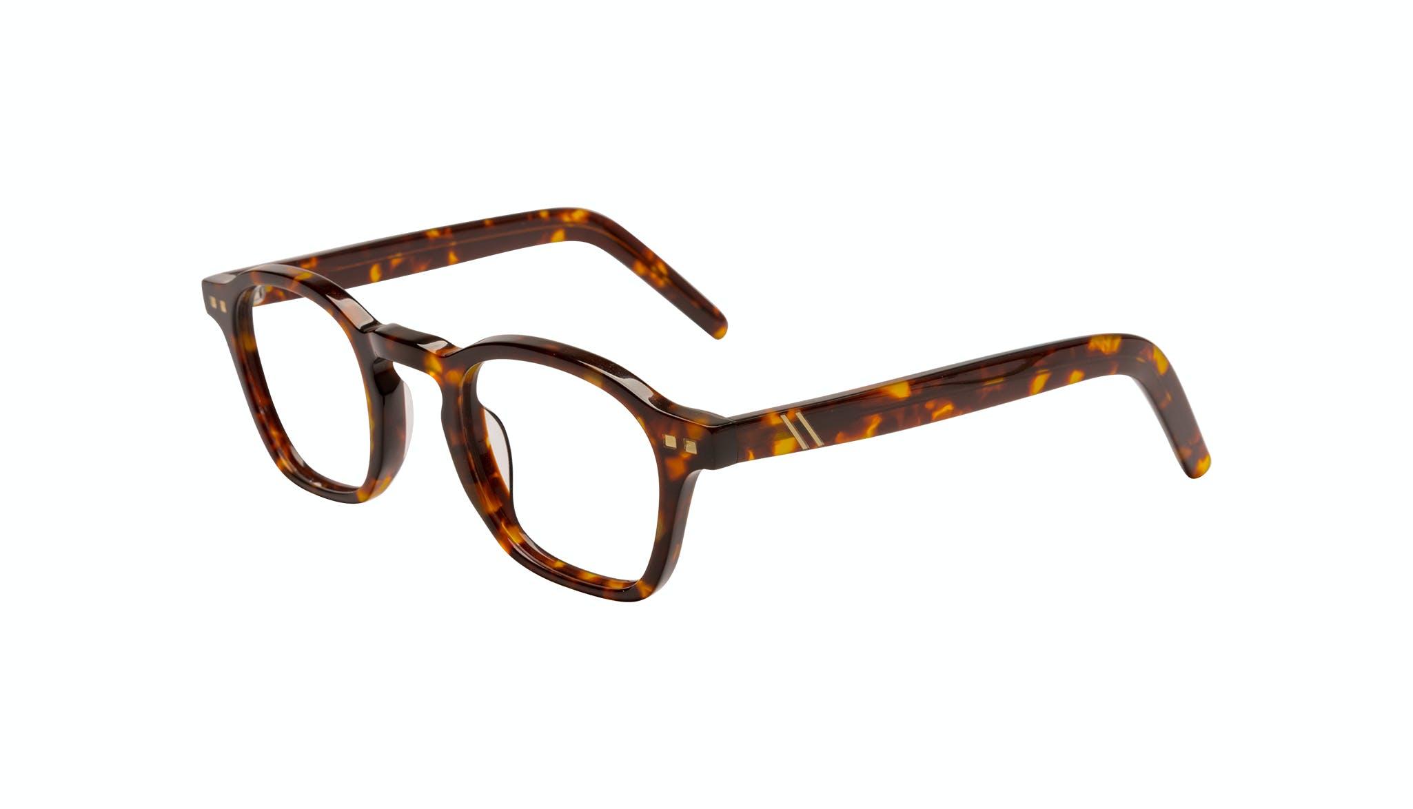 Affordable Fashion Glasses Square Eyeglasses Men Brisk Tortoise Tilt