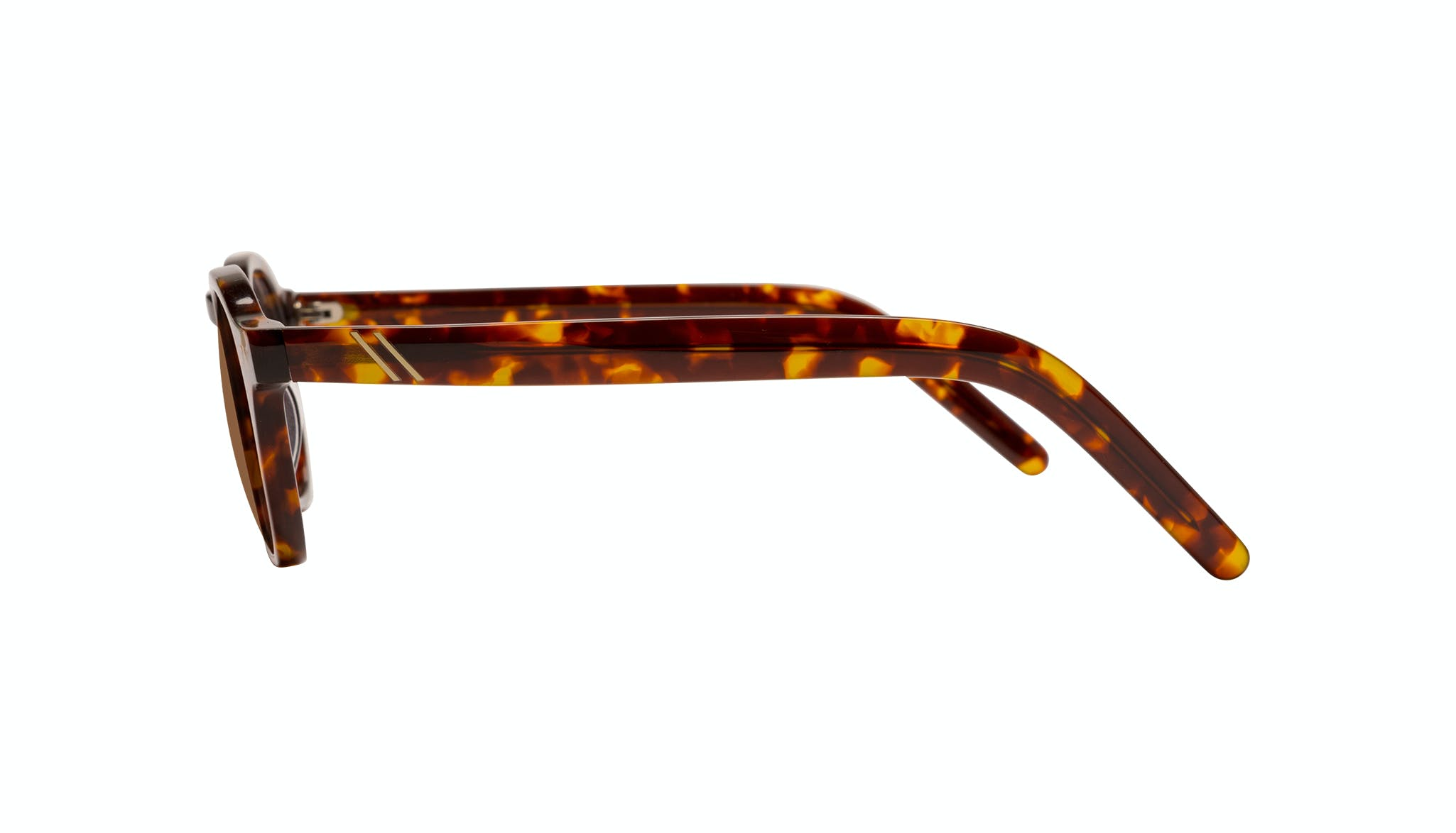 Affordable Fashion Glasses Square Sunglasses Men Brisk Tortoise Side