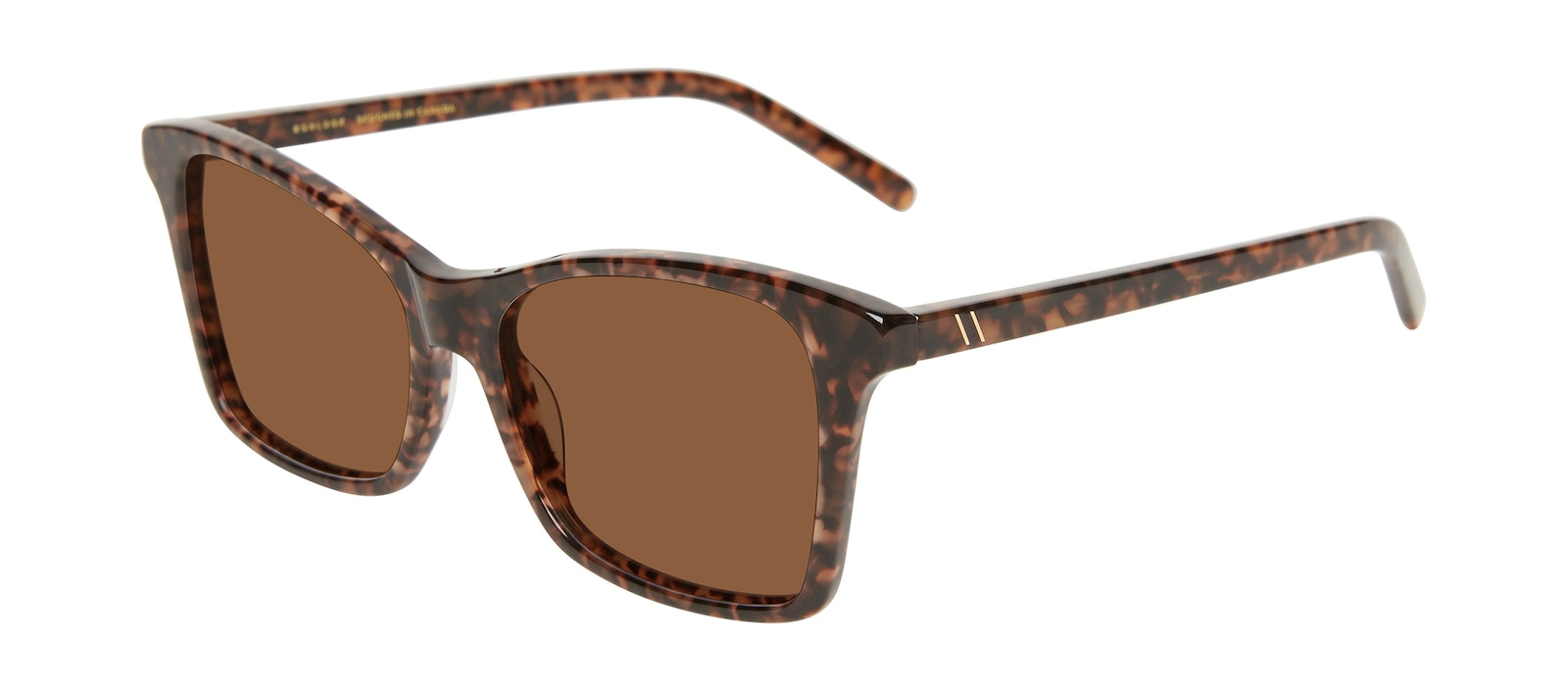 Affordable Fashion Glasses Square Sunglasses Women Cadence Leopard Tilt