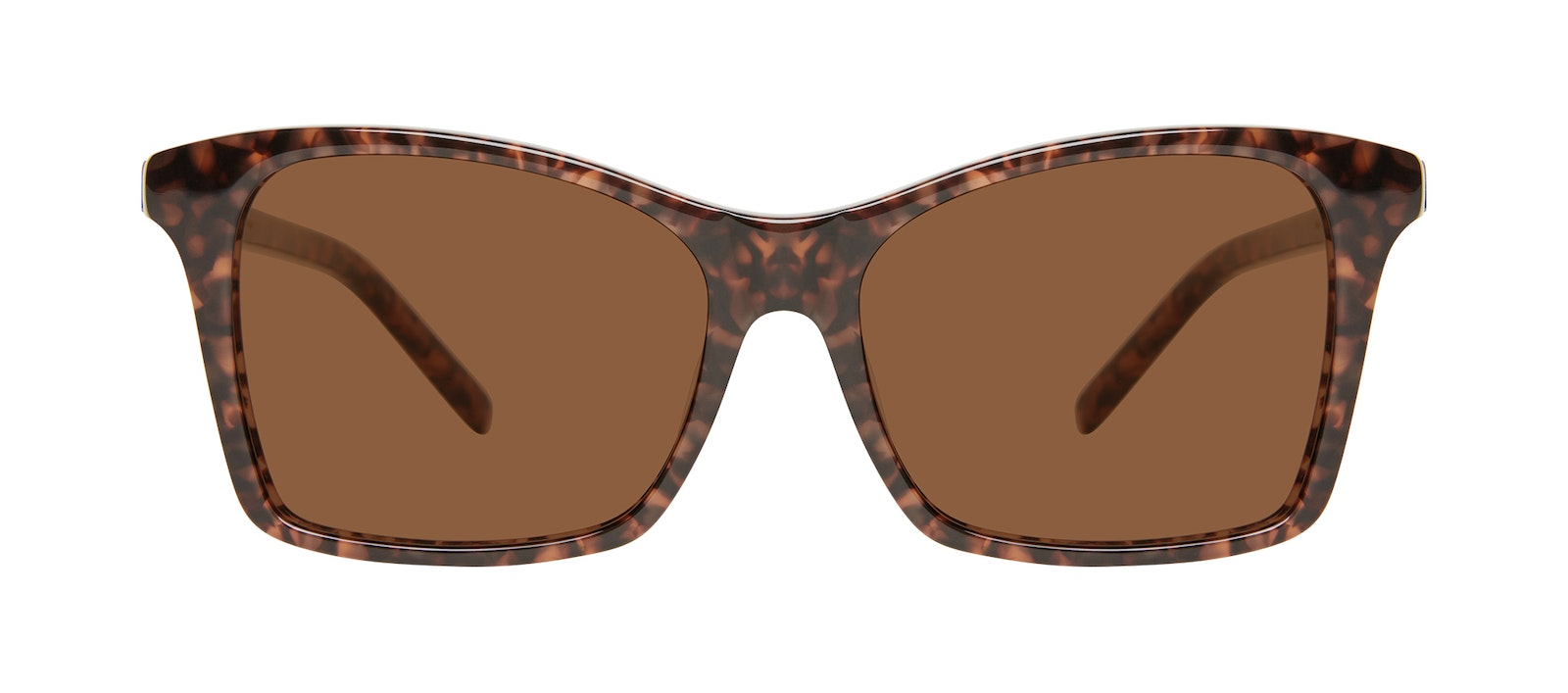 Affordable Fashion Glasses Square Sunglasses Women Cadence Leopard Front