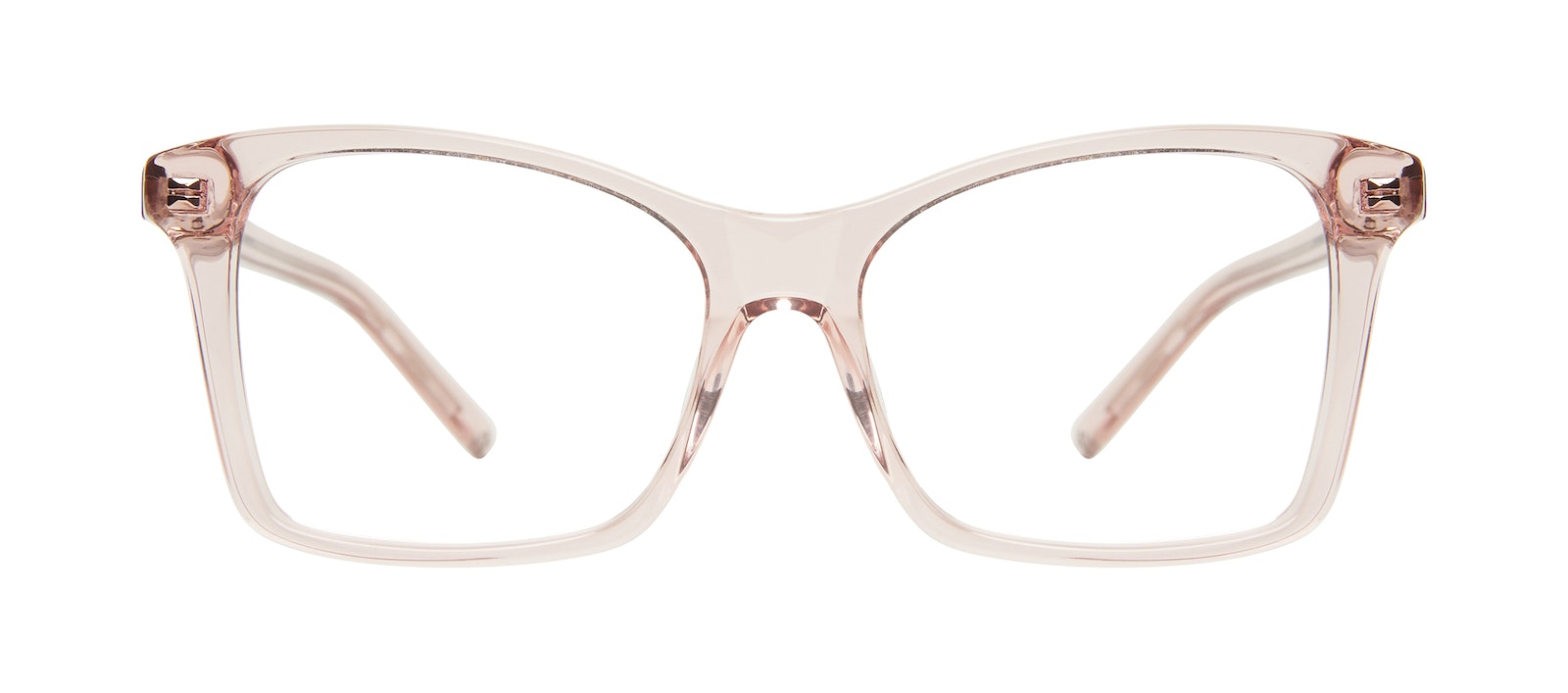 Affordable Fashion Glasses Square Eyeglasses Women Cadence Pink Front
