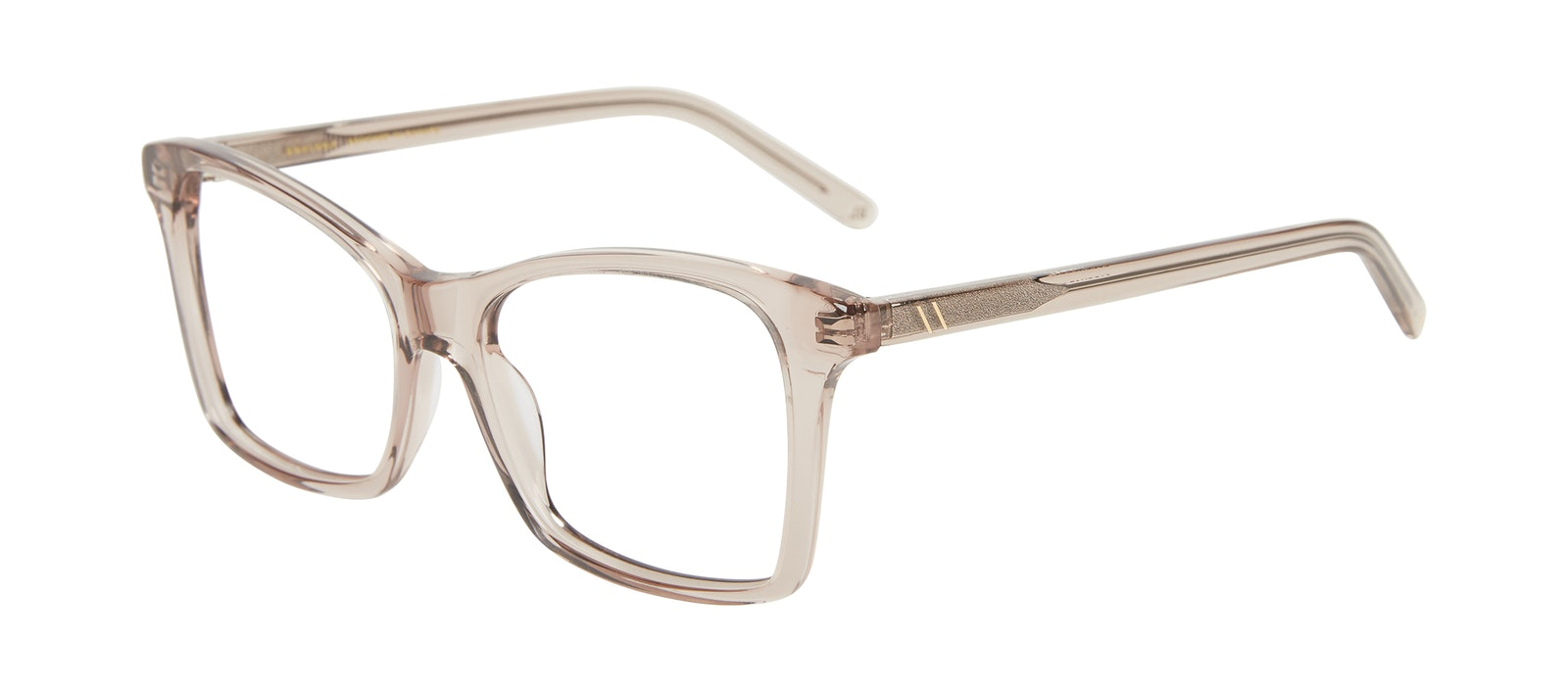 Affordable Fashion Glasses Square Eyeglasses Women Cadence Sand Tilt