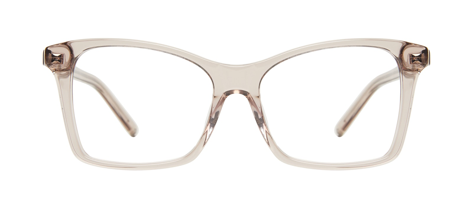 Affordable Fashion Glasses Square Eyeglasses Women Cadence Sand Front