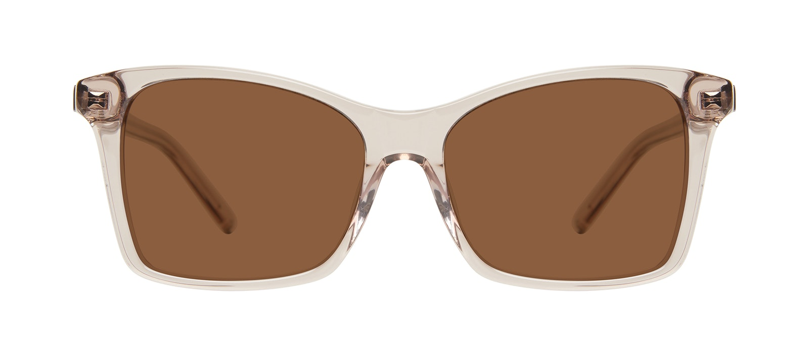 Affordable Fashion Glasses Square Sunglasses Women Cadence Sand Front
