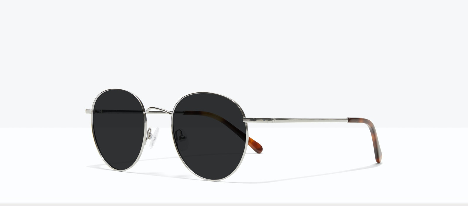 Affordable Fashion Glasses Round Sunglasses Women Calibre Platinum Tilt
