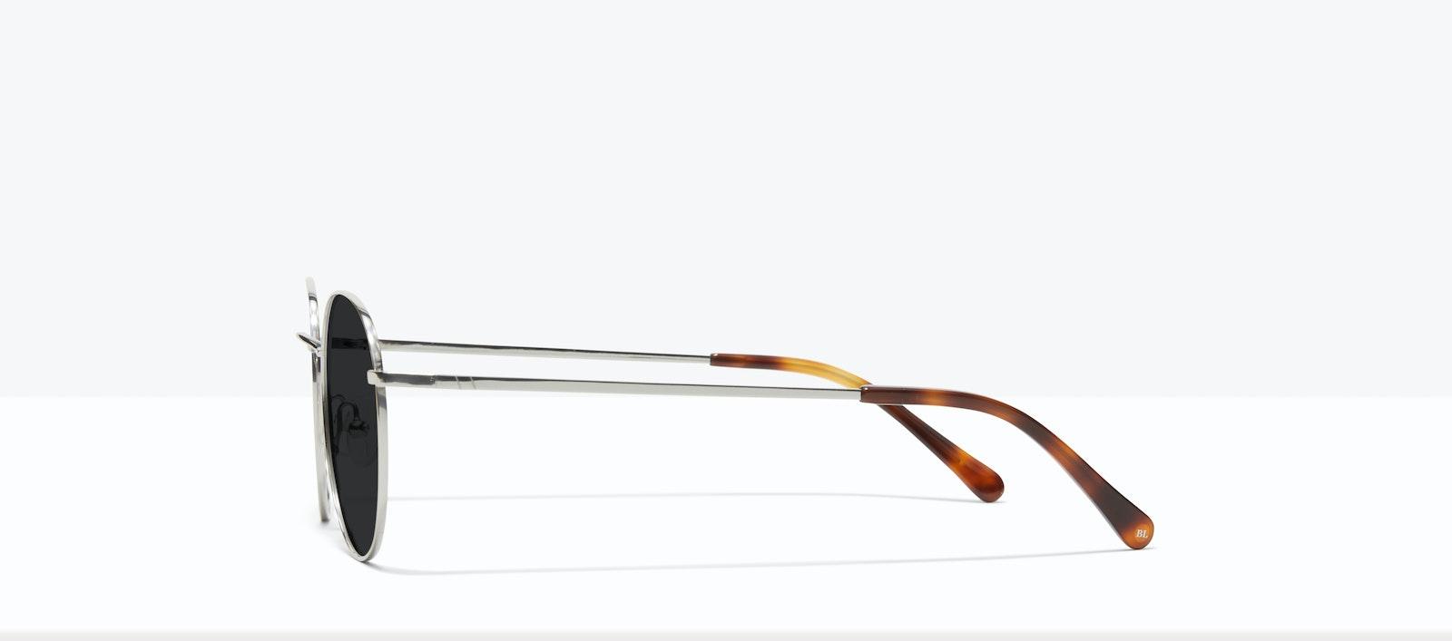 Affordable Fashion Glasses Round Sunglasses Women Calibre Platinum Side