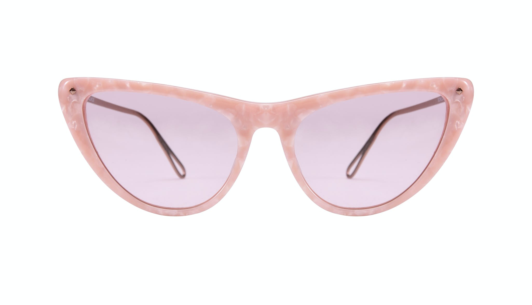 Affordable Fashion Glasses Cat Eye Sunglasses Women Celeste Rose Front