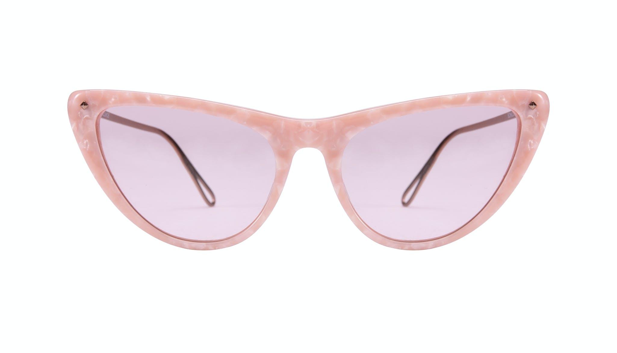 Lunettes tendance Oeil de chat Lunettes de soleil Femmes Celeste Rose