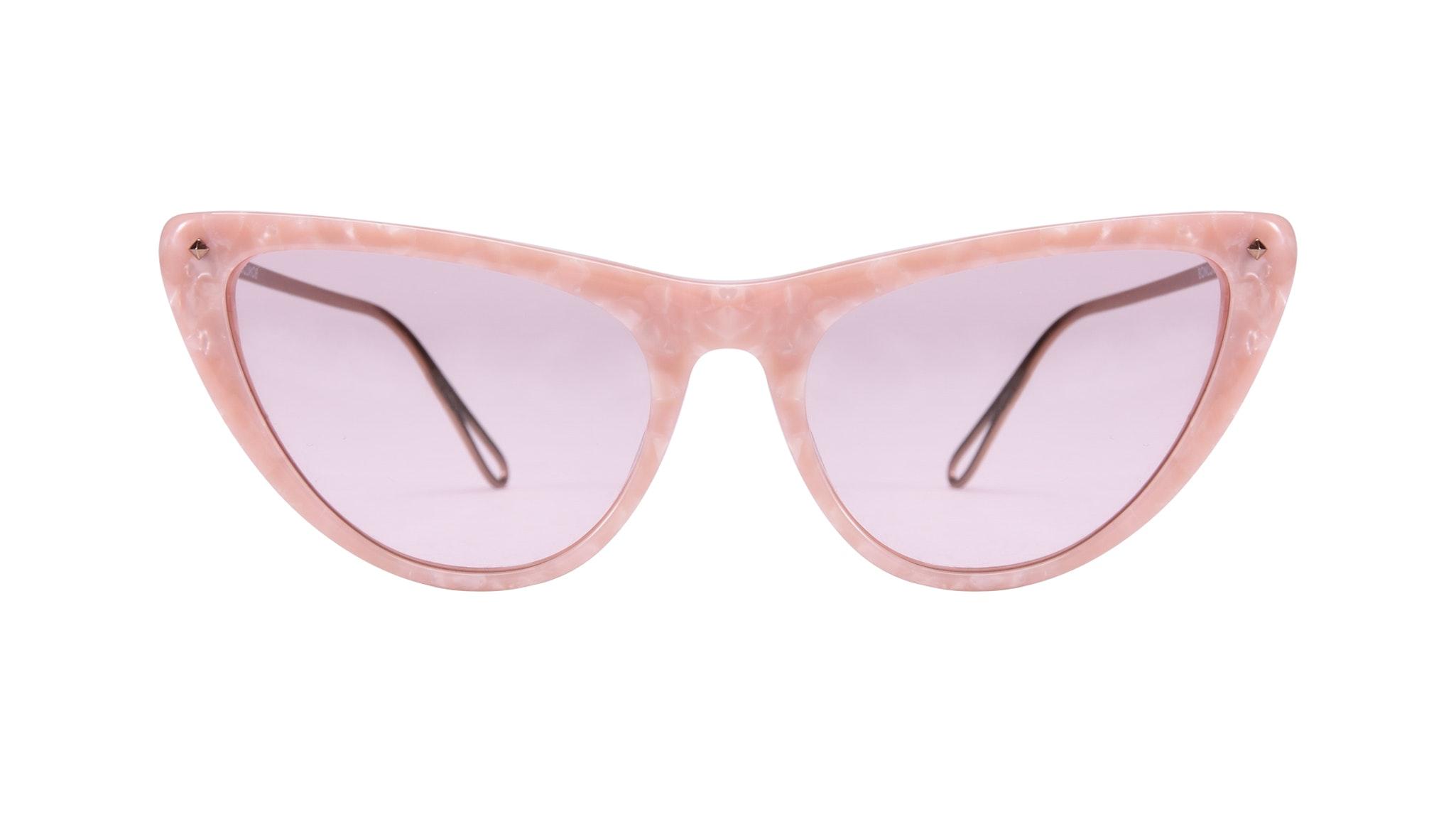 Affordable Fashion Glasses Cat Eye Sunglasses Women Celeste Rose Front