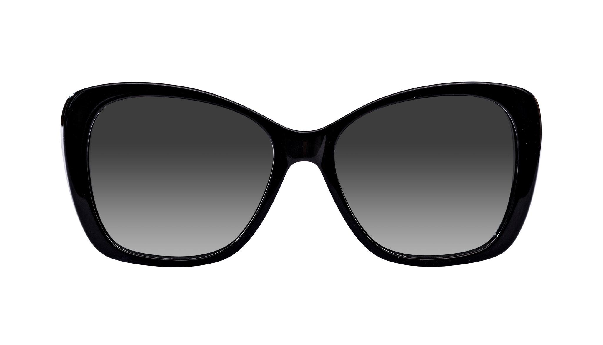 Affordable Fashion Glasses Cat Eye Square Sunglasses Women Charm Ebony Blue