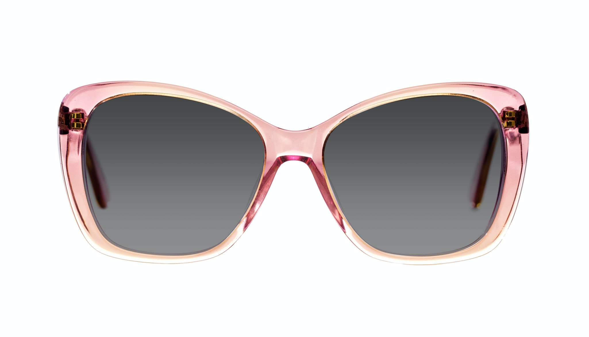 Affordable Fashion Glasses Cat Eye Square Sunglasses Women Charm Pink Haze