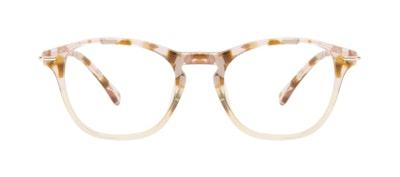 Affordable Fashion Glasses Square Eyeglasses Women Charming Blond Flake Front