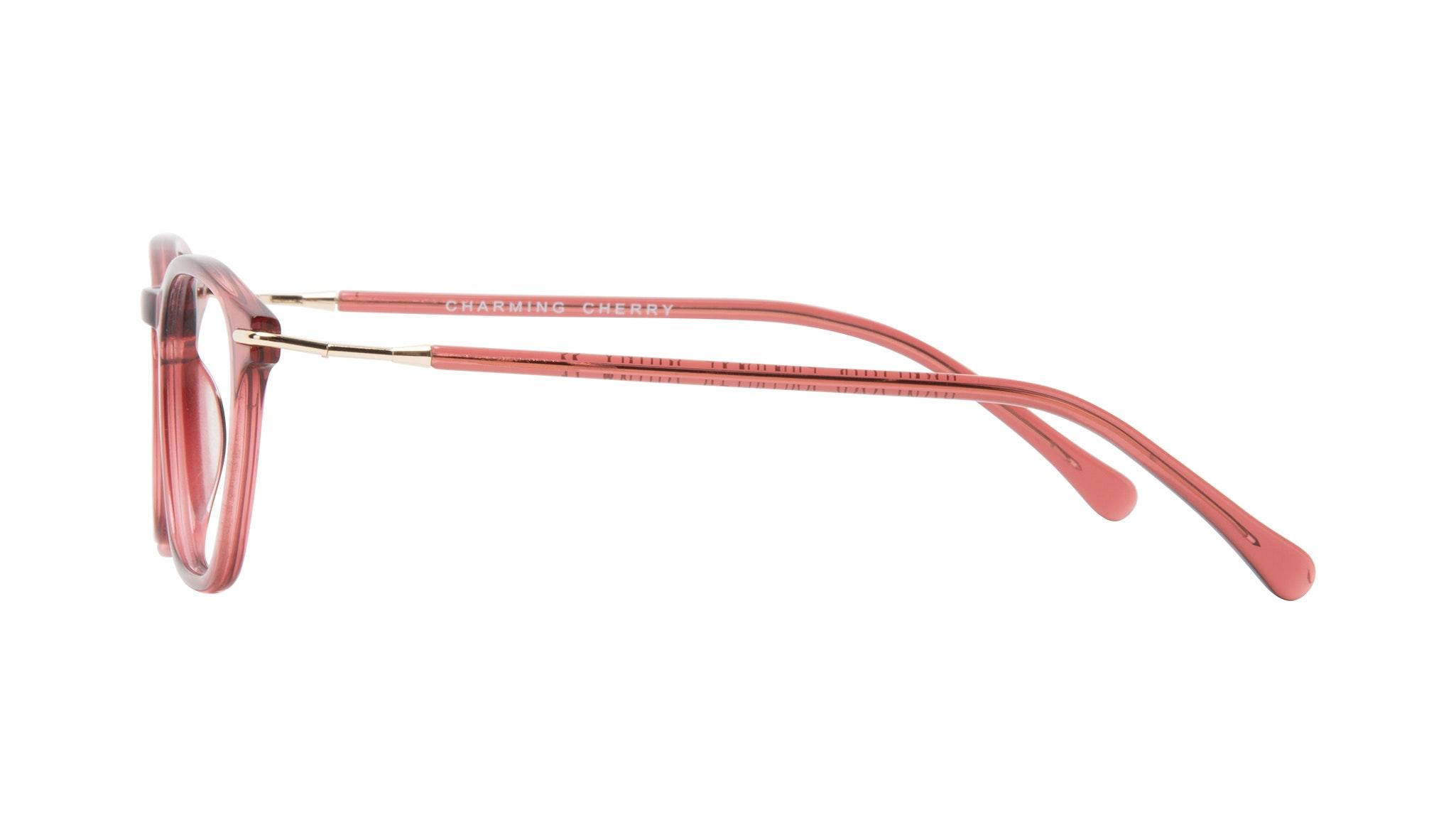 Affordable Fashion Glasses Square Eyeglasses Women Charming Cherry Side