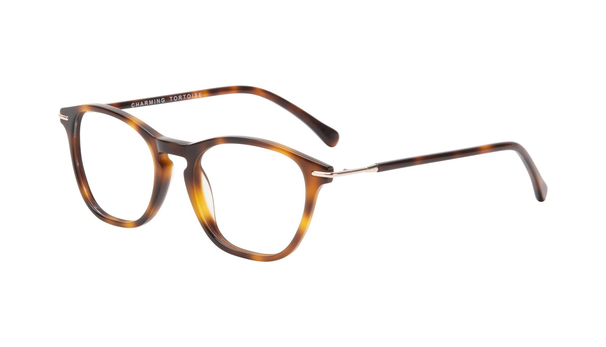 Affordable Fashion Glasses Square Eyeglasses Women Charming Tortoise Tilt