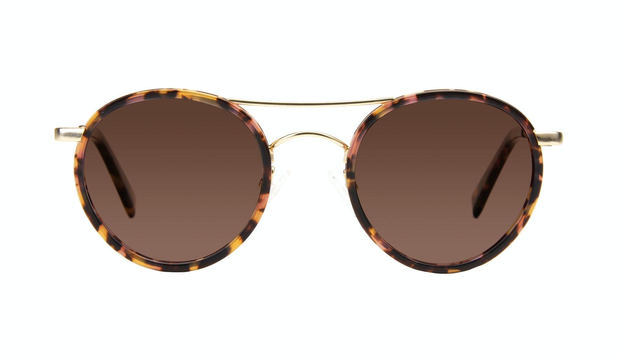 aviator round sunglasses  Women\u0027s Sunglasses - Chelsea in Gold Tortoise