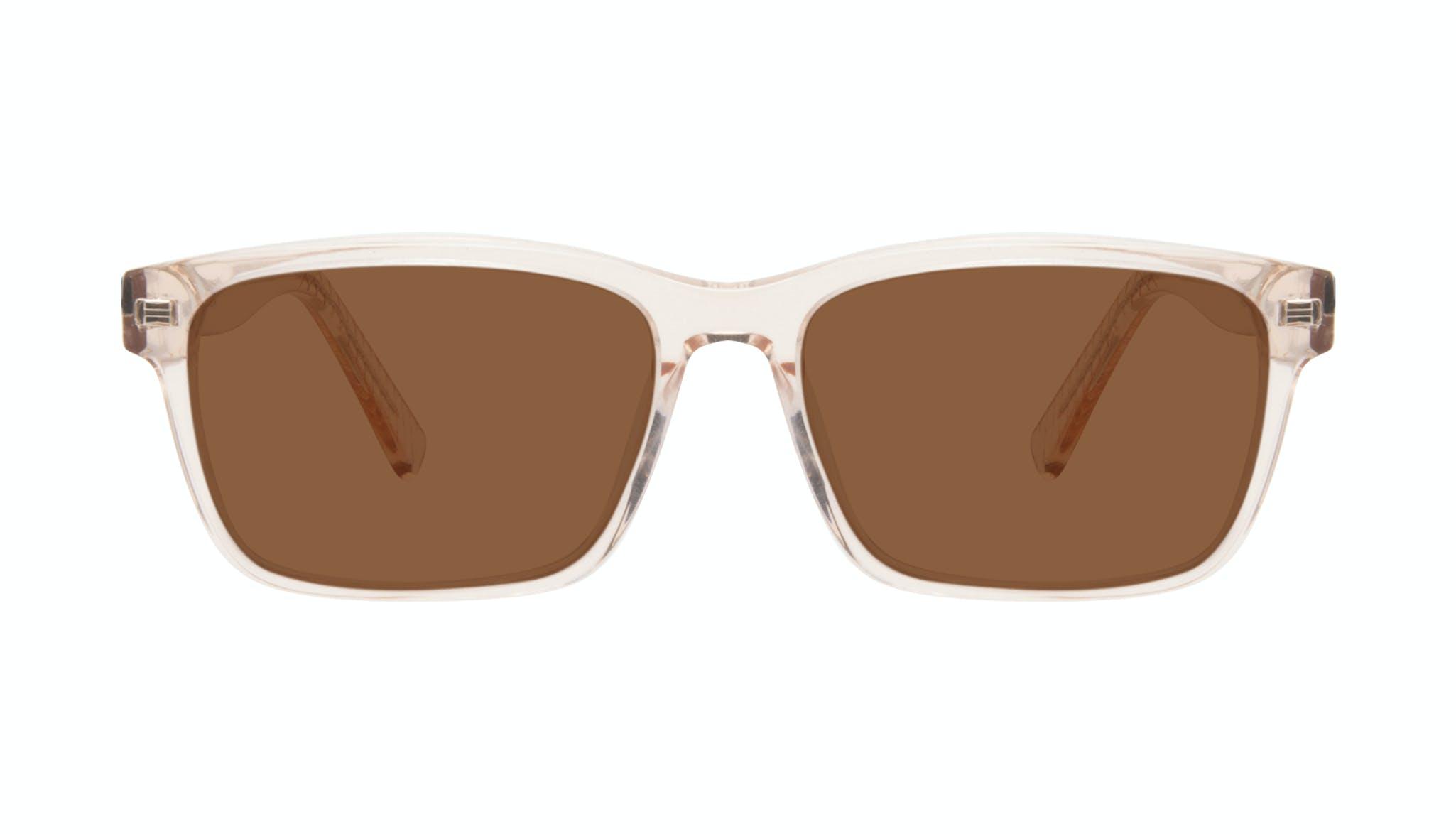 Affordable Fashion Glasses Square Sunglasses Men Chief Golden Front