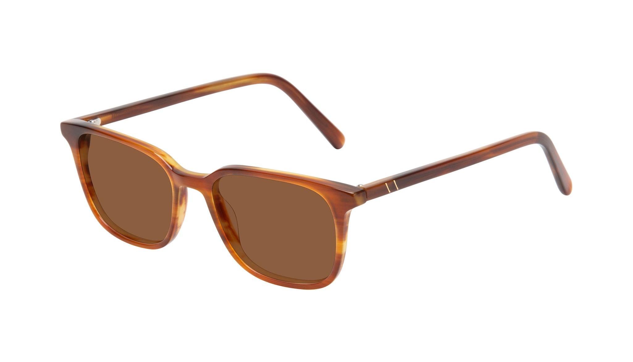 Affordable Fashion Glasses Square Sunglasses Men Choice Havana Tilt