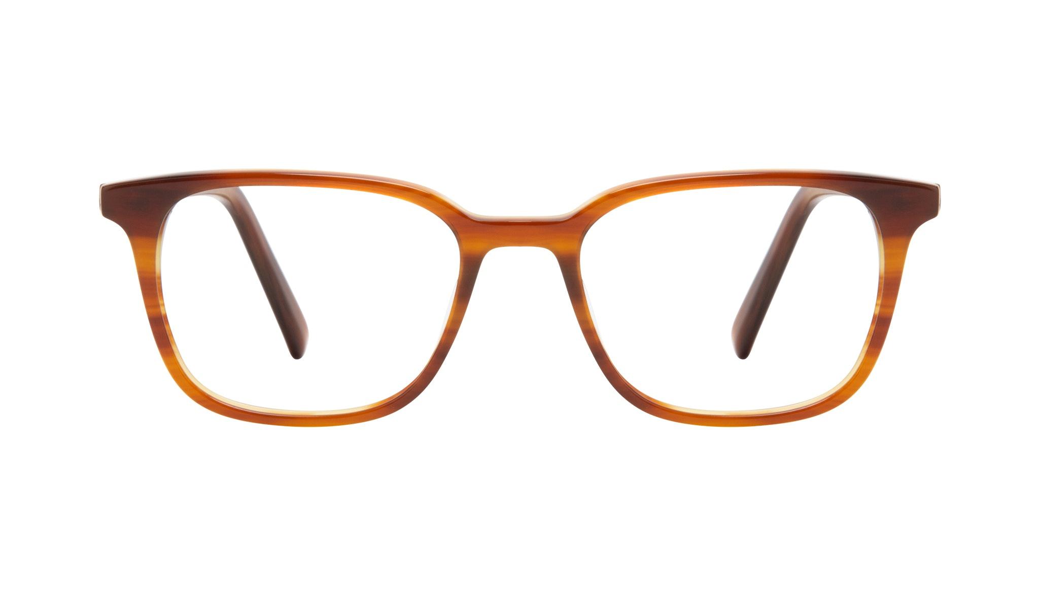 Affordable Fashion Glasses Square Eyeglasses Men Choice Havana Front