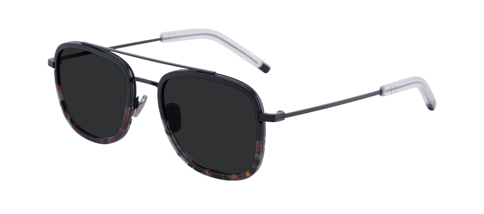 Affordable Fashion Glasses Aviator Rectangle Sunglasses Men Class Mahogany Tilt