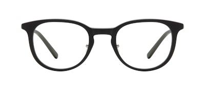 Affordable Fashion Glasses Round Eyeglasses Men Coast Onyx Matte Front
